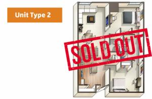 Lofts@1633 Unit 2 floor plan