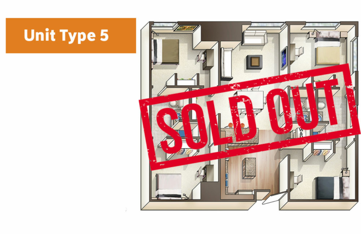 Lofts@1633 Unit 5 floor plan