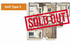 Lofts@1633 Unit 3 floor plan